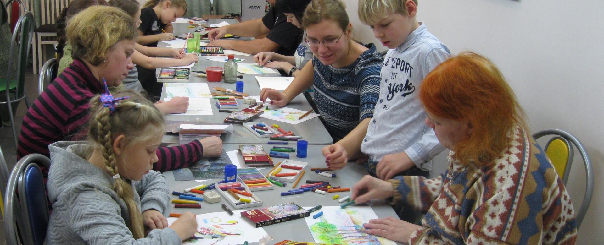 Цикл музейных занятий для детей и их родителей