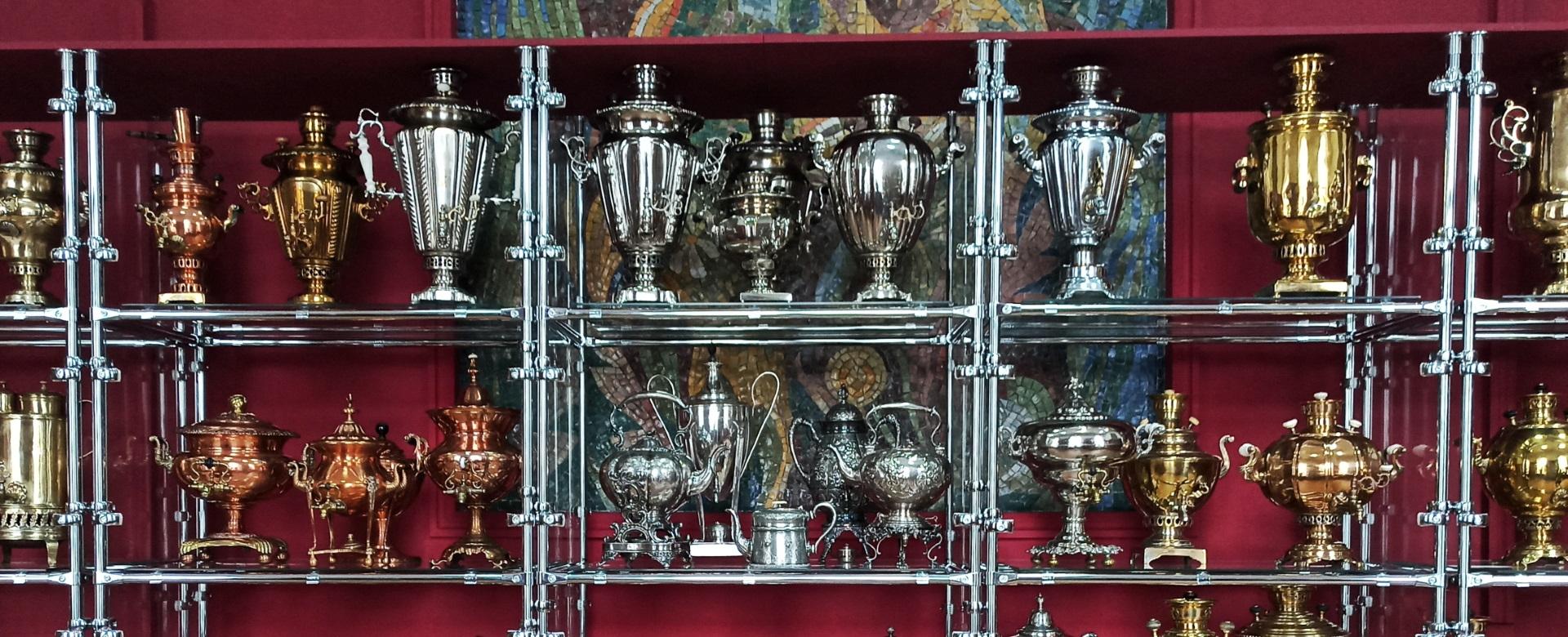 Выставка «Витязи русского стола»
